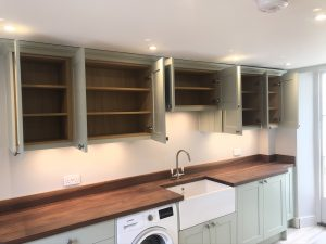 shaker style utility room